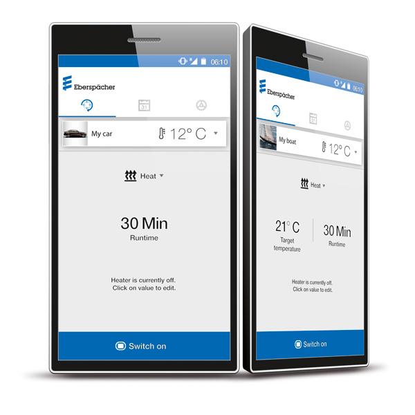EasyStart Web mobiiliohjain